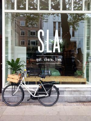 SLA; the new salad bar in Amsterdam