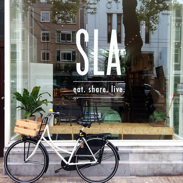 SLA; the new salad bar in Amsterdam