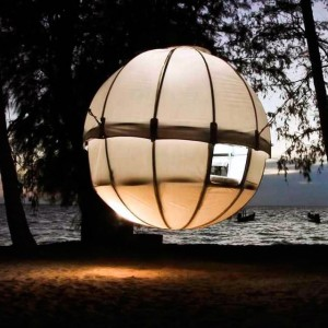 Suspended Treehouse by Cocoon Tree