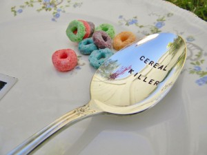 Cereal Killer Spoon by Pretty Paris