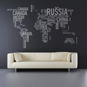 different wall sticker